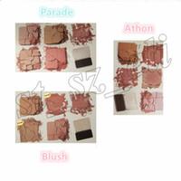 Wholesale brush springs - New Brand Blush Bar Spring Blush Highlight Palette 5 Colors Highlighter Palette with brush 3 types
