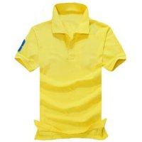 Wholesale fashion malaysia - Hot Sale designer polo shirt Luxury Brand t shirts mens Casual polos with embroidery Malaysia 3 polos head fashion Cotton T-shirt