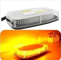 çatı amber ışıkları toptan satış-12 V 240 LED Işık Çubuğu Roof Top Acil Işaret Uyarı Flaş Strobe Sarı Amber