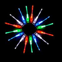 Wholesale color changing fiber optic lamp for sale - Group buy Finger Optic Fiber Light Color Ring Led Lamp Kids LED Novelty Nightlight Led Rave Toys Finger Toys Lighting Up Color Changing Xmas Halloween