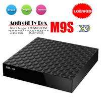 Wholesale best android set top box resale online - Best MXQ PRO MXQ K Android TV Boxes Rockchip RK3229 G G Smart TV Box WIFI suport D OTT TV Box set top box M9S V3 V5 K3 X9 OEM
