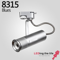 Wholesale museum art - COB LED Track Light Focusable Dimmable Adjustable Spot Light High CRI Ceiling lamp For Museum art Gallery Commercial Store 15W