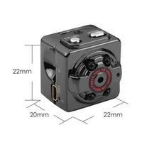 mp sensor venda por atacado-SQ8 Mini Câmera HD 1080 P Gravador HD DV Sensor de Movimento Night Vision Micro Cam Esporte DV Sem Fio Filmadora Gravador de Alta Qualidade DHL Livre
