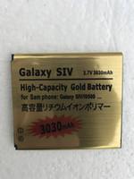 s4 мини-золото оптовых-Отличное качество большой емкости 4350 мАч золотой запасной аккумулятор для Samsung Galaxy S2 S3 S4 S5 S6 S5MINI для Samsung S4 мини Бесплатная доставка
