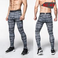 ingrosso corpo di pallacanestro-2018 Outdoor Apparel Body da uomo jog ad asciugatura rapida pantalone da palestra di compressione pantaloni da basket Pro allenamento pantaloni
