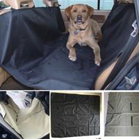 suministros de camiones al por mayor-Asiento perro coche cubre gato del animal doméstico impermeable amortiguador del coche para los coches Camiones hamaca convertible Artículos para mascotas Accesorios 145 * 130cm HH7-1249