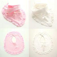 Wholesale Baby Boy Tie Bibs - Fashion newborn toddler cotton baby bibs boy girl saliva towel kids bib feeding no pressure baby accessories