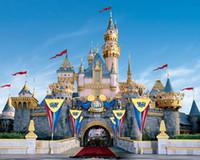décors de fées achat en gros de-HUAYI Conte de fées château photographie décors princesse arrière-plans pour studio princesse photo fond tissu toile de fond d-8481