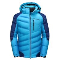 Wholesale high end down coats - 2017 New thick winter down jacket men High-end quality men warm duck down jacket windproof brand male coat