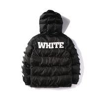 abrigos de camuflaje para las mujeres al por mayor-Europa y los Estados Unidos Tide Brand Stripes negro camuflaje revestido de algodón verde hombres y mujeres parejas chaqueta de calidad superior HFBYJK039