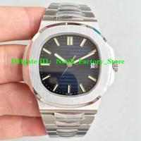 часы sc оптовых-3 цвета Top Factory V4 Версия Мужские Автоматические Miyota 9015 Cal.324 SC Nautilus Часы 40 мм Синий Циферблат Мужчины Дата Eta 5711 Dive Швейцарские Часы
