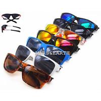 Wholesale glasses sunshine - New Hot Fashion Popular Cycling Brand Sunglasses Goggle Outdoor Sunshine Beach Mirror Sport Glasses Eyewear Unisex Jupiter Sun Glasses