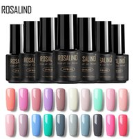 Wholesale uv gel nails for sale - ROSALIND Gel 1 HOT SALE 29 COLORS 7ML Gel Nail Polish Nail Art UV LED Lacquer For Extension Design Top Varnishes