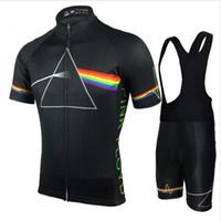 cycling оптовых-2018 Pink Floyd Велоспорт устанавливает мужчины MTB рубашки дышащий велосипед одежда комплекты Quick Dry Спорт топы Велоспорт трикотажные изделия XS-5XL