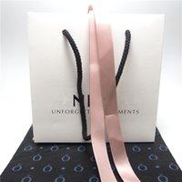 kunst papiertüten großhandel-Paket Karton Papier-Tasche 10 Arten für Pandora Ring-Ohrringe Charme-Korn baumeln Art und Weise Schmuck Mehrwert für Ihr Produkt