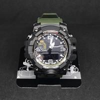 смотреть аналоговый оптовых-2018 Мужские военные G стиль часы LED аналоговый двойной дисплей Кварцевые наручные часы Ourdoor Спорт мужские мужские часы часы часы relogio masculino