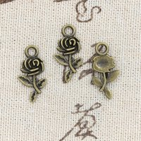 40PCS Tibetan Silver Small Gecko Charms Pendant Jewelry Crafts Bracelet 29*9MM