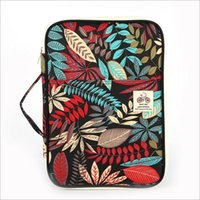 Wholesale file zipper - 2018 New Multifunction A4 File Bag Waterproof Leaf Portable Zipper Ipad Business Nylon Passport Phone Pen Book Card Holder