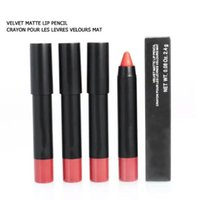 colores de licuadora de belleza al por mayor-Clásicos NAR'S Cosméticos Velvet Matte Lip Pencil Lipsticks 12 colores Beauty Makeup Blender Liner DHL Gratis