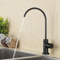 Wholesale led tube light online - Matte Black stainless steel Lead Free Beverage Faucet Drinking Water Filtration System Inch Tube
