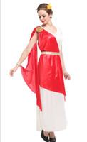 ingrosso sexy cosplay romano-Antica mitologia greca Dea Costumi sexy Donna Halloween Signora romana Regina Cosplay che mostra il vestito di carnevale di carnevale