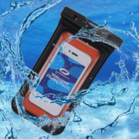 Wholesale xiaomi 4c case resale online - 6 quot Waterproof Case Pouch Bubble Floating Bag Water Proof Universal Phone Case on For Xiaomi Plus A C S S C note