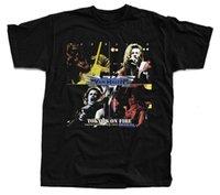 огнеупорный кирпич оптовых-VAN HALEN Tokyo's On fire футболка (черный, белый, кирпич, хаки) S-5XL футболка повседневная o-образным вырезом смешная одежда повседневная с коротким рукавом