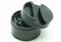 personalisierte zigaretten großhandel-Neue vier schicht aluminiumlegierung zigarettenanzünder 75 MM personalisierte kreative metall grinder rauchschneider
