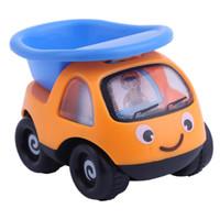 modell kräne spielzeug großhandel-Inertial Engineering Fahrzeug Spielzeug Mini Cartoon Kran Bagger und Kipplaster Modell Spielzeugauto für Kinder Baby Kinder Spielzeug
