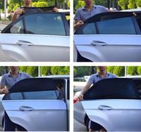 parasoles de la ventana lateral trasera al por mayor-Coche Sun Shade Cover Window Uv Blind Nuevo Rear Universal One Sun Shade Side Cover Protección del coche Par HHA65