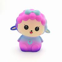 Wholesale lamb toys for sale - Jumbo Lamb Starry Squishy CM Scented Squishies Glitter Foam Cute Kawaii Jumbo Sheep Squishy Slow Rising Bread Depression Toys For Kids