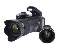 protax kameras großhandel-PROTAX POLO D7100 Digitalkamera 33MP 24X optischer Zoom Autofokus Professionelle DSLR Videokamera HD1080P Verbesserter Camcorder + 3 Objektiv