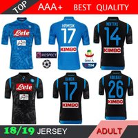 2018 2019 Napoli Champions League soccer jersey home away 18 19 Naples  ZIELINSKI HAMSIK INSIGNE CALLEJON PLAYER ROG 3RD football shirts f4fbc099c