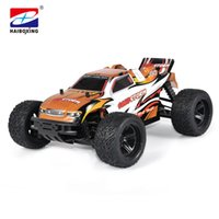 Wholesale scale 16 - HBX 16882 RC Car 4WD 2.4Ghz 1:16 Scale 32km h High Speed Remote Control Car Electric Powered Off-road Vehicle Model stickers
