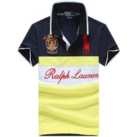 Wholesale United Style - 2018 Europe and the United States men's new brand summer Polo shirt # 137