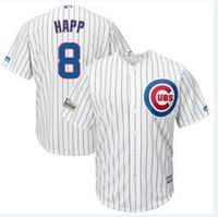 Wholesale youth cheap sports jerseys - 2018 World Series Champion Chicago Cubs 8 Ian Happ Baseball Jerseys Custom Sports Throwback mlb Cheap Jersey Fashion factory Women Youth 4x