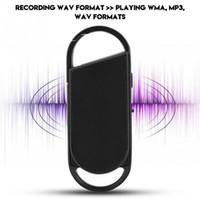 Wholesale mini keychain recorders for sale - Group buy mini Keychain digital voice recorder GB Professional Digital Audio Voice Recorder Dictaphone kbps WAV to WMA MP3 WAV Mini Recorder