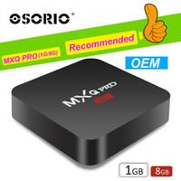 ingrosso la migliore casella tv mxq-2019 Android TV Box M95 MINI M9S T2 Allwinner H3 1GB 8 GB Miglior Box TV per Internet Android 7.1 MXQ PRO RK3229 TV Box 2.4G wifi 3D 4K H.265 1080P