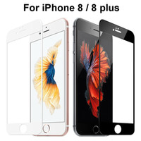 Wholesale covers for i phone - Full Cover i8 Plus Screen Protector For iPhone8 Glass For Apple 8 Cell I Phone iPhone8plus Protective 9 H Glas Film