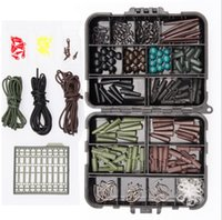 Wholesale Mixed Lures - Fishing Carp set Almighty Mixed Fishing Lure Bait box Wobbler With Treble Hook Minnow Bait carp Fish Spinners Terminal Tackle Kit KKA4068