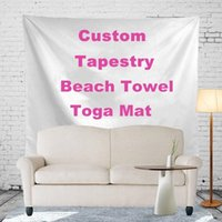 Wholesale Free customized Polyester Bohemian Tapestry Styles150 cm Mandala Beach Towels Promotion Gift Advertisement Indian Wall Hanging R486