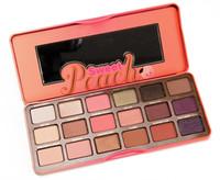Wholesale eye makeup huda beauty online - Huda Matte Eye Makeup Sweet Peach Beauty Eyeshadow Palette Color TF Eye Shadow Collection g Oz