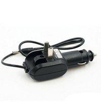 Wholesale headlight plugs - 2 in 1 Car Charger and AC Charger for 4.2V Charger EU for Bike Headlight Flashlight 3.5mm Plug