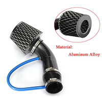 """Wholesale carbon fiber air filter - 3"""" Carbon Fiber Aluminum Alloy Pipe Turbo Piping Cold Air Intake System Filter"""