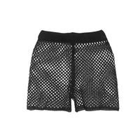 горячее закрытие крышки оптовых-2018 New Sexy Women's Hollow Out Crochet Bikini Cover Up Shorts Beach Fishnet Hot Summer Pants 6-12