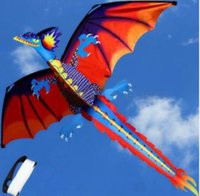 Wholesale kites toys for sale - Group buy Brand New pudcoco Newest Arrivals D Dragon Kite Single Line With Tail Family Outdoor Sports Toy Children Kids Funny Kites