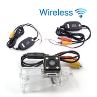 Wholesale car reverse parking camera wireless for sale - Group buy Wireless HD Car Rear View Camera For Benz Viano Parking Backup Reverse Camera Night Vision Waterproof
