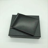ingrosso portafoglio migliore carta di credito-Portafoglio porta carte di credito da uomo in pelle di alta qualità con tasca porta carte di credito