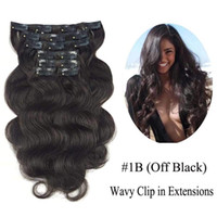 siyah atkı insan saç uzantıları toptan satış-20