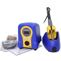 Wholesale Soldering Station Solder Iron - Knokoo High Quality 70W FX-888D Lead Free Safety Digital Smd Soldering Station with Solder iron Handle and Tips